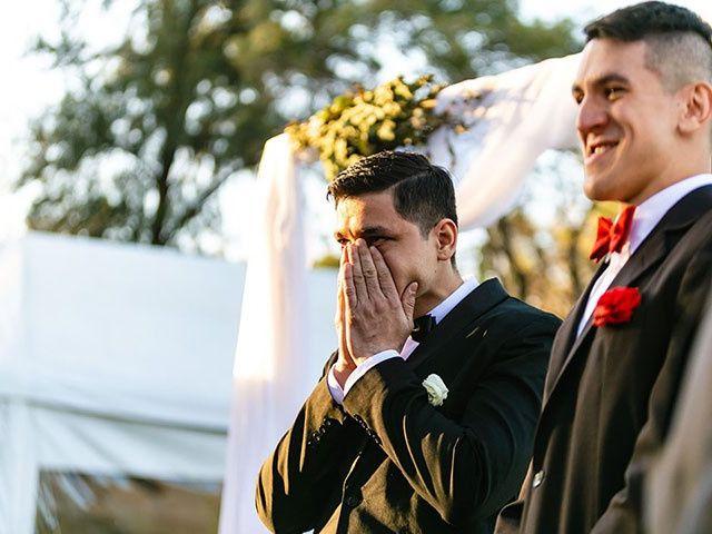 El casamiento de David y Andreina en Ingeniero Maschwitz, Buenos Aires 22
