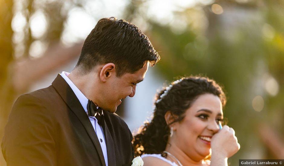 El casamiento de David y Andreina en Ingeniero Maschwitz, Buenos Aires