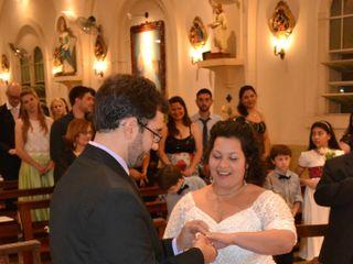 El casamiento de Román y María Laura 1