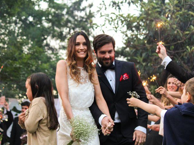 El casamiento de Floni y Juano