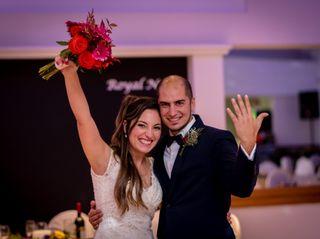 El casamiento de Rosario y Leo