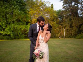 El casamiento de Flor y Guille