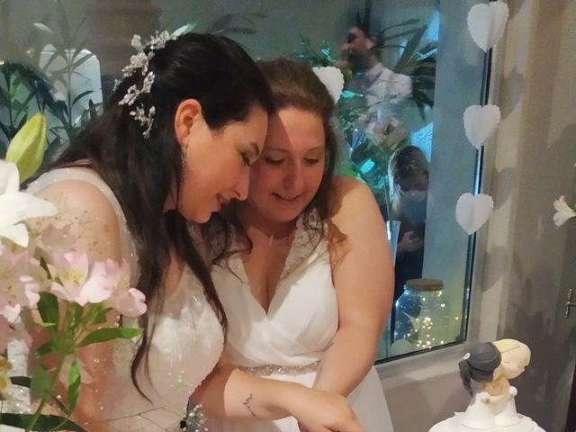 El casamiento de Florencia  y Constanza