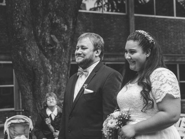 El casamiento de Georgina y Daniel