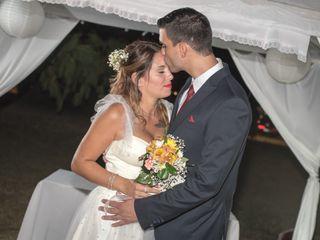 El casamiento de Sil y Ale