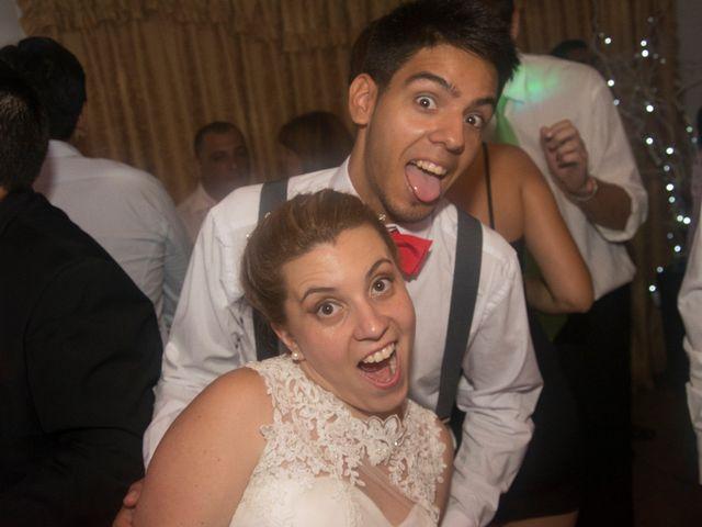El casamiento de Estefanía y Tomás