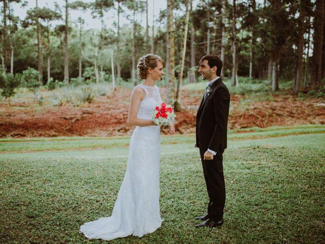El casamiento de Aristides y Ariceldis en Montecarlo, Misiones 18