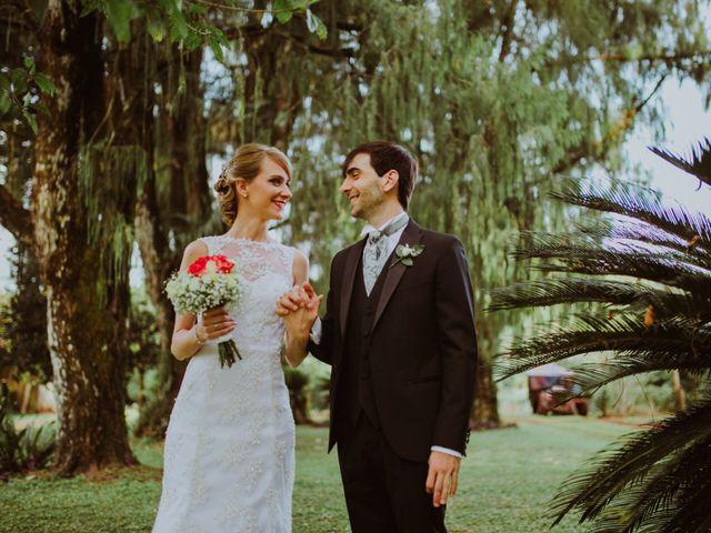 El casamiento de Aristides y Ariceldis en Montecarlo, Misiones 17
