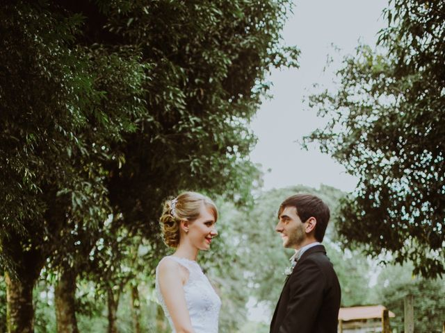 El casamiento de Aristides y Ariceldis en Montecarlo, Misiones 22
