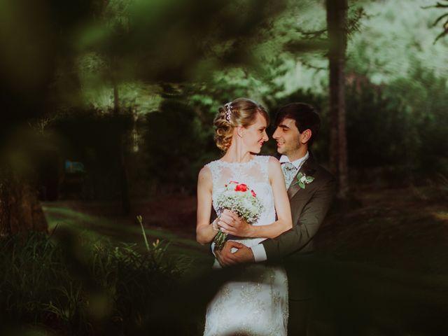 El casamiento de Aristides y Ariceldis en Montecarlo, Misiones 13