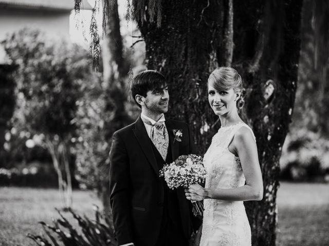El casamiento de Aristides y Ariceldis en Montecarlo, Misiones 31