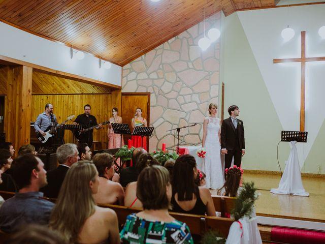 El casamiento de Aristides y Ariceldis en Montecarlo, Misiones 36