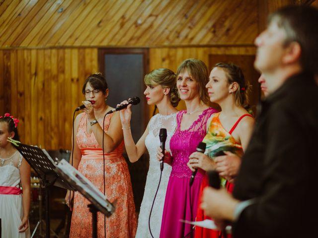 El casamiento de Aristides y Ariceldis en Montecarlo, Misiones 35