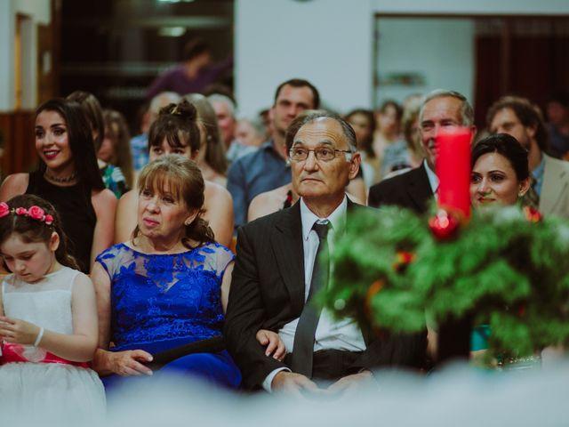 El casamiento de Aristides y Ariceldis en Montecarlo, Misiones 53