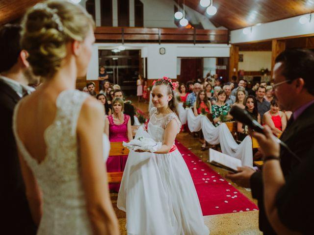 El casamiento de Aristides y Ariceldis en Montecarlo, Misiones 49