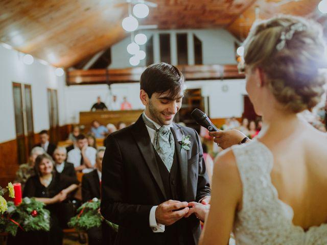 El casamiento de Aristides y Ariceldis en Montecarlo, Misiones 48