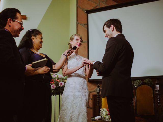 El casamiento de Aristides y Ariceldis en Montecarlo, Misiones 45