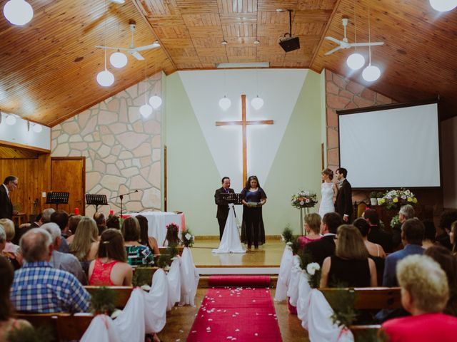 El casamiento de Aristides y Ariceldis en Montecarlo, Misiones 44