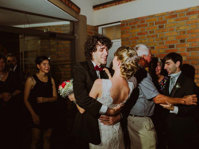 El casamiento de Aristides y Ariceldis en Montecarlo, Misiones 74
