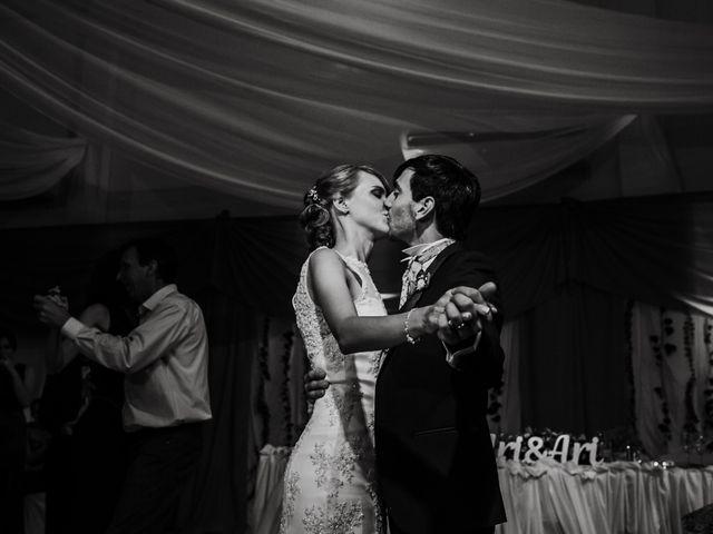 El casamiento de Aristides y Ariceldis en Montecarlo, Misiones 84