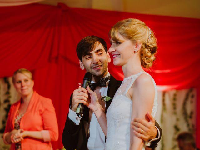 El casamiento de Aristides y Ariceldis en Montecarlo, Misiones 81