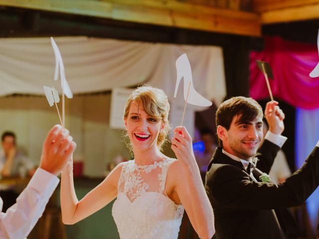 El casamiento de Aristides y Ariceldis en Montecarlo, Misiones 80