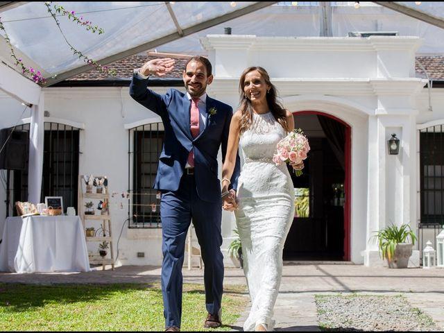 El casamiento de Florencia y Agustín