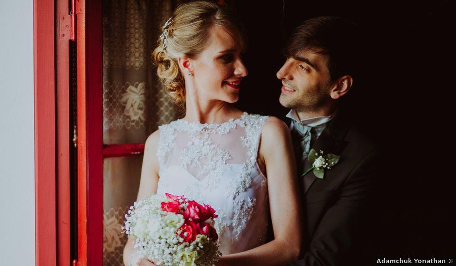 El casamiento de Aristides y Ariceldis en Montecarlo, Misiones