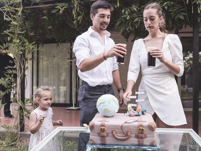 El casamiento de Nico y Cata en La Plata, Buenos Aires 140
