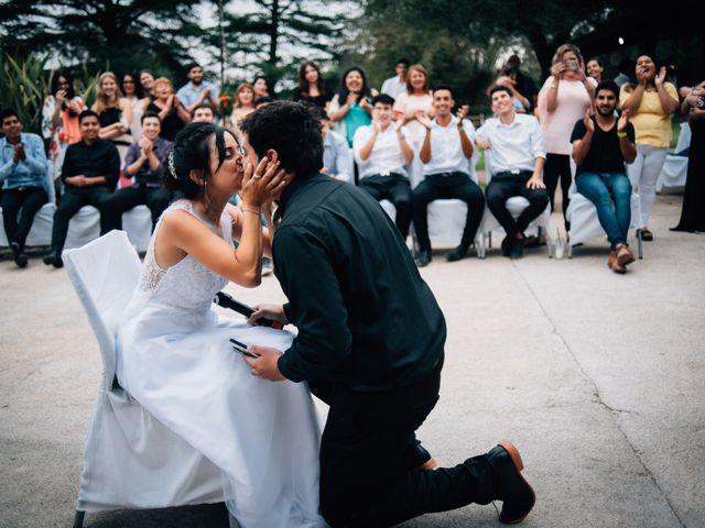 El casamiento de Agustina y Santiago
