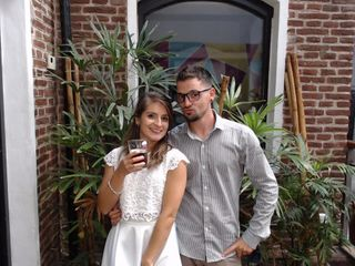El casamiento de Romina y Manuel