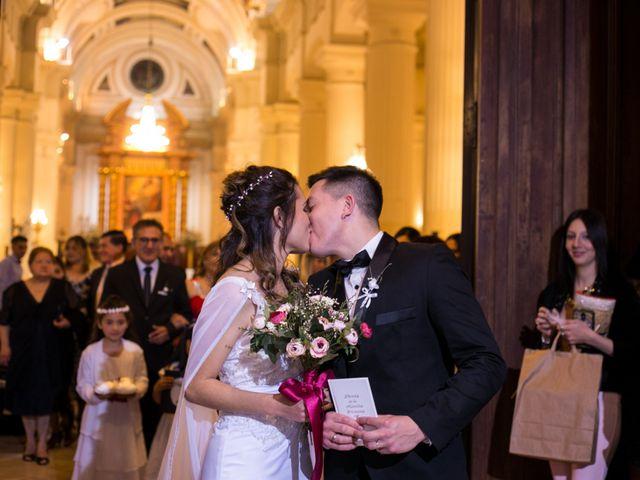 El casamiento de Génesis y Iván