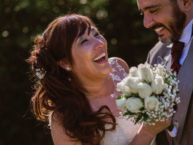 El casamiento de Fernanda y Andres