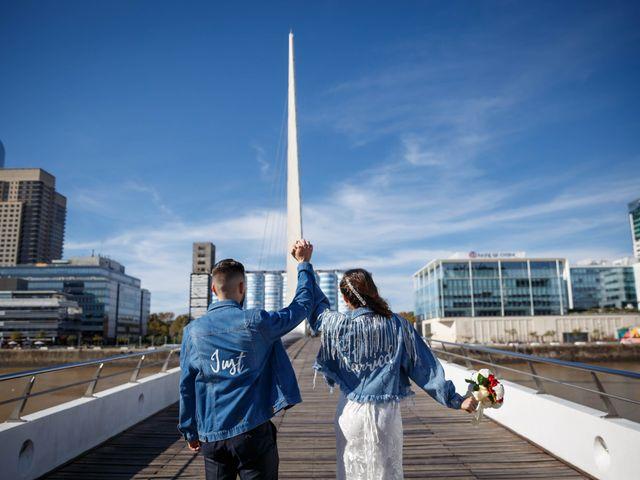 El casamiento de Charly y Aldana en San Telmo, Capital Federal 49