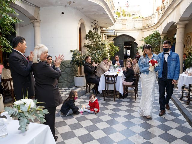 El casamiento de Charly y Aldana en San Telmo, Capital Federal 54