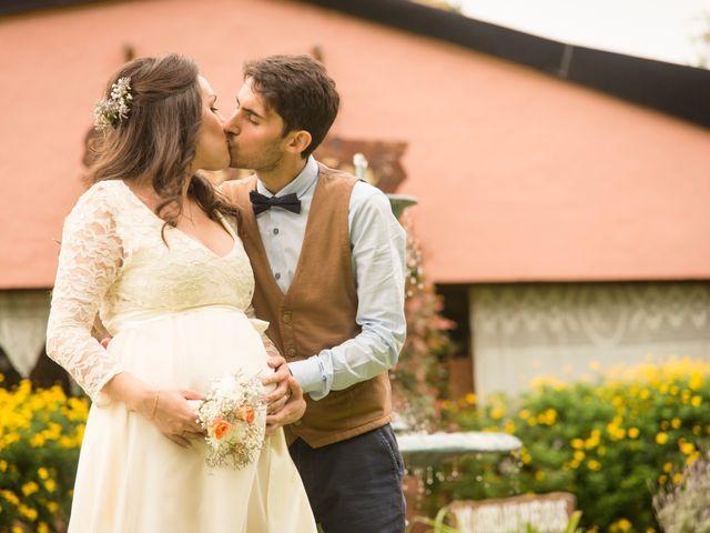 El casamiento de Vicky y Santiago