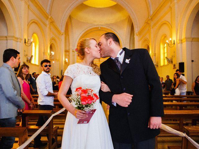 El casamiento de Justina y Matías