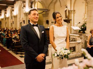 El casamiento de Virginia y Lucas