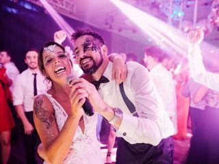 El casamiento de Flor y Mati