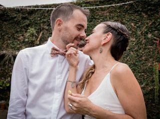 El casamiento de Carolina y Xavier