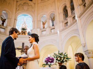 El casamiento de Mai y Agus