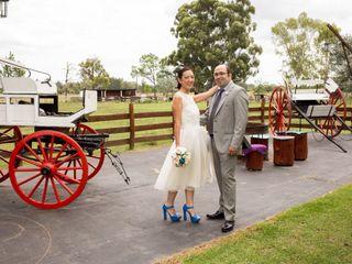 El casamiento de Flor y Jose