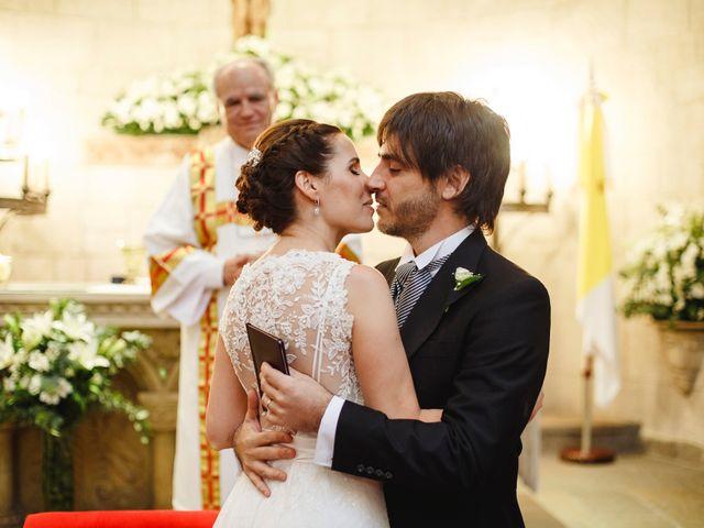 El casamiento de Agus y Esteban