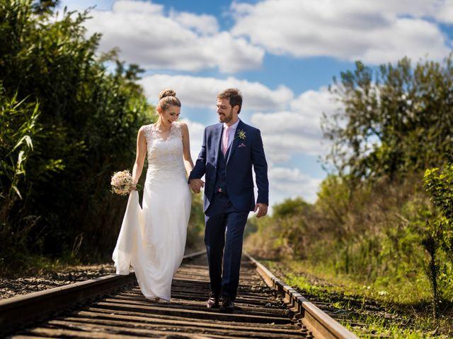 El casamiento de Virginia y Nico
