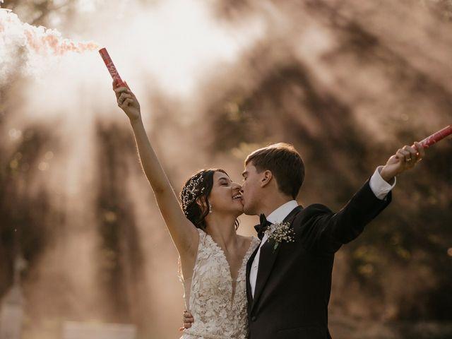 El casamiento de Christian y Madeleine en Lobos, Buenos Aires 1