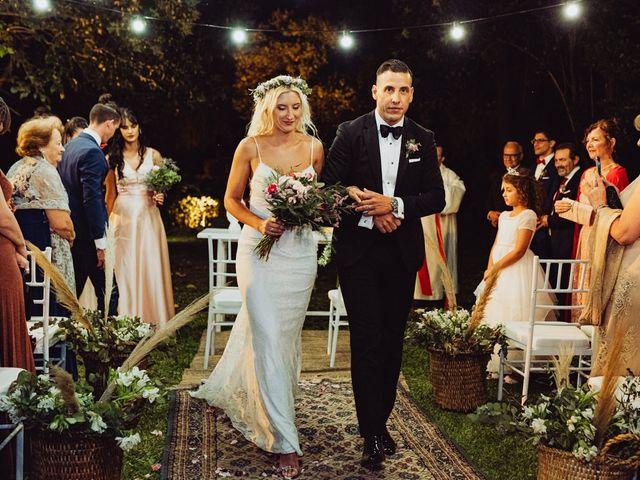 El casamiento de Daniela y Cristian