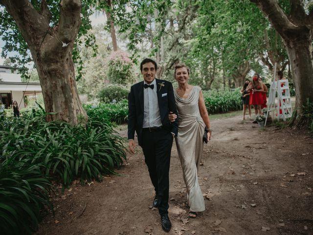 El casamiento de Julian y Stefania en Exaltacion de La Cruz, Buenos Aires 48