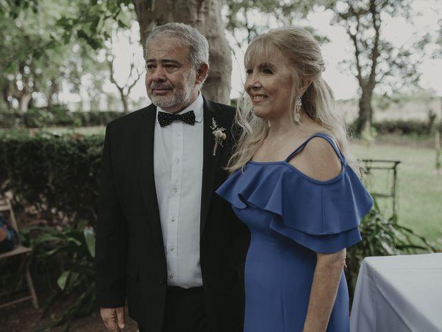 El casamiento de Julian y Stefania en Exaltacion de La Cruz, Buenos Aires 54