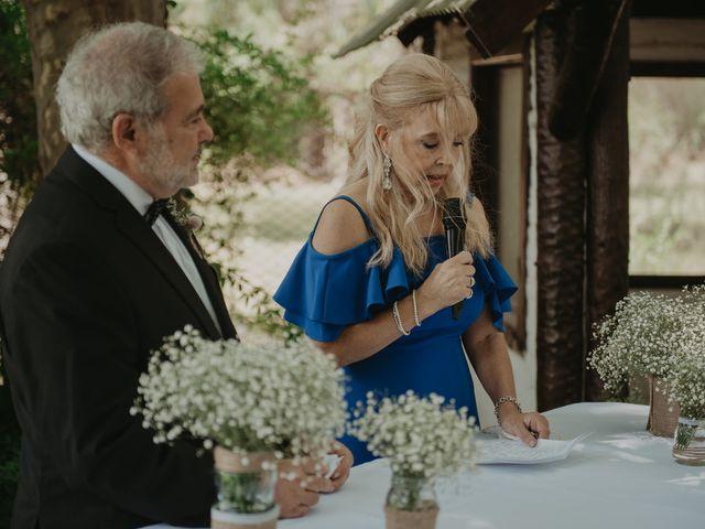 El casamiento de Julian y Stefania en Exaltacion de La Cruz, Buenos Aires 55