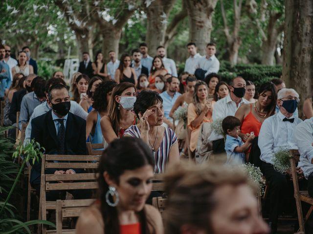 El casamiento de Julian y Stefania en Exaltacion de La Cruz, Buenos Aires 58